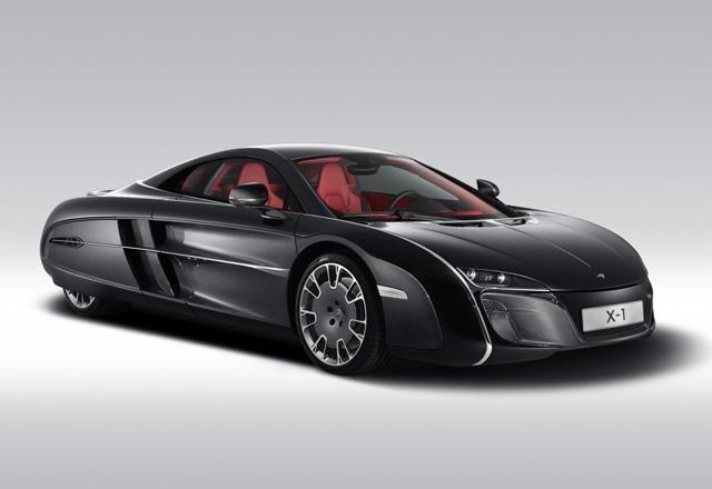 McLaren X-1 - футуристический классик