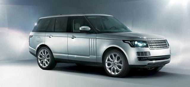 Первые фото нового Range Rover 2013