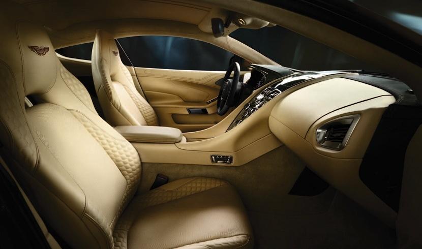 Aston Martin Vanquish - эмоции в движении