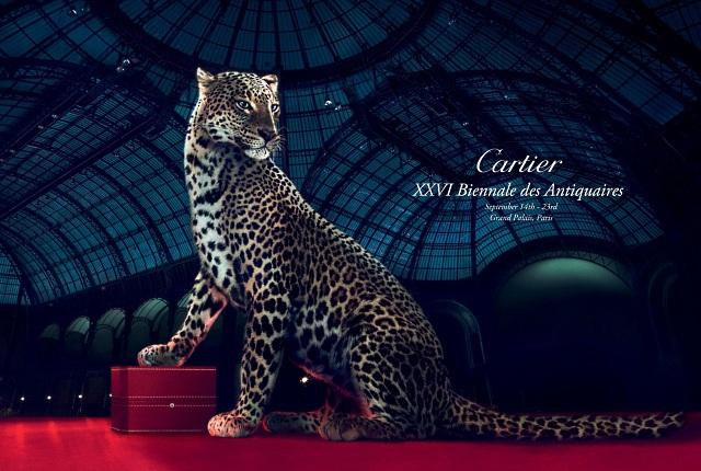 Cartier на XXVI Биеннале Антикваров