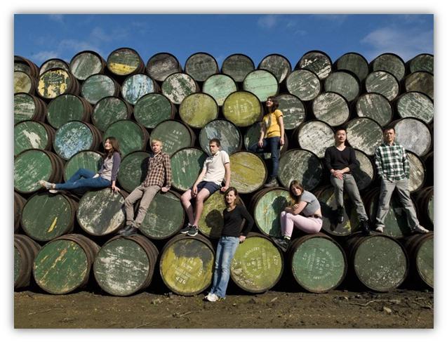 Художники со всего мира на винокурне Glenfiddich 2012