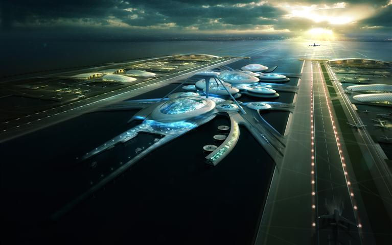 Плавучий Аэропорт в Лондоне