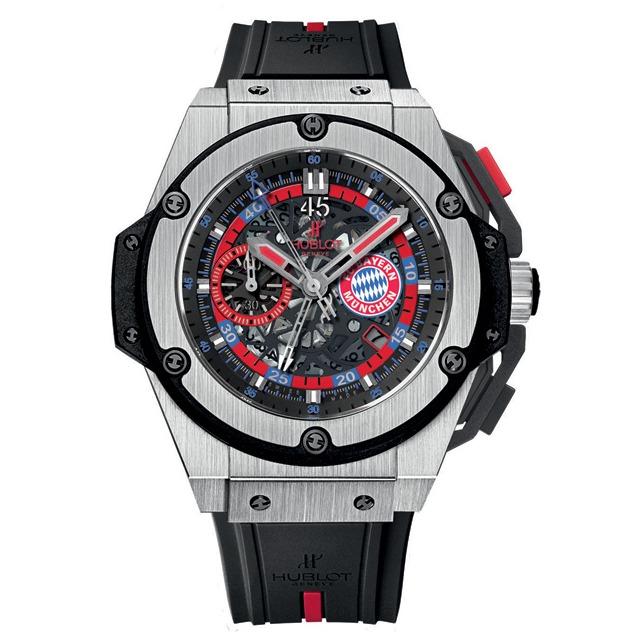 Футбольные часы Hublot King Power FC Bayern Munich