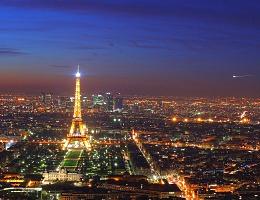 Париж - самый популярный у туристов город Европы