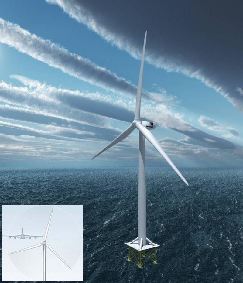 Vestas V164 - самый мощный в мире ветрогенератор на 8МВт