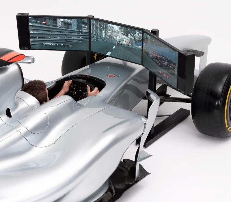 Симулятор болида F1 по цене суперкара