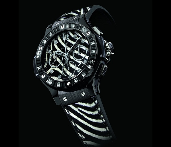 Hublot выпутил новую модель часов Big Bang Zebra
