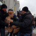FEMEN штурмом брала Верховную Раду