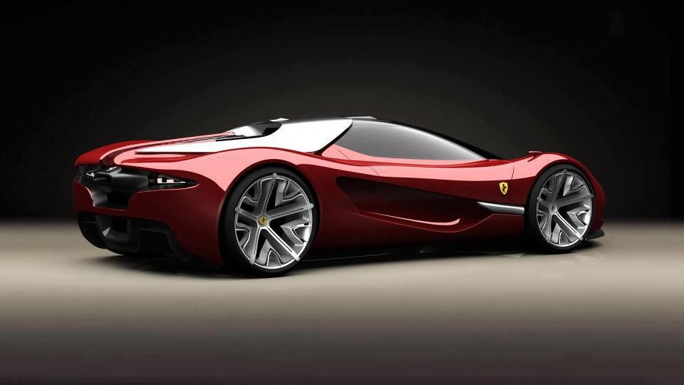 Суперкар Ferrari Сэмми Васема
