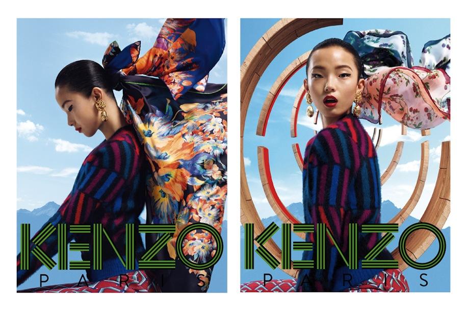 Рекламная кампания аксессуаров KENZO осень/зима 2012