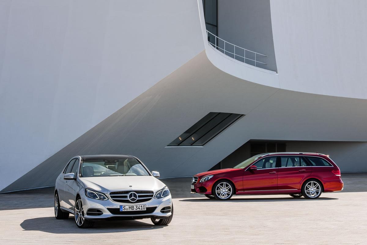 Седан и универсал Mercedes-Benz E-Class 2014 года