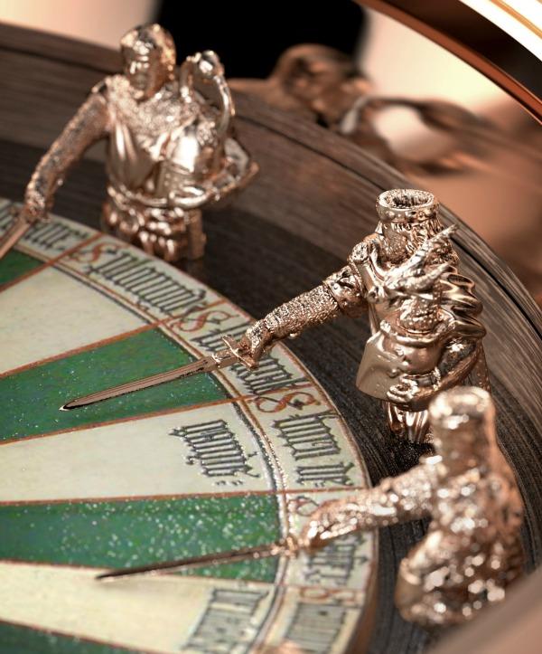Рыцарские часы Roger Dubuis Excalibur Table Ronde