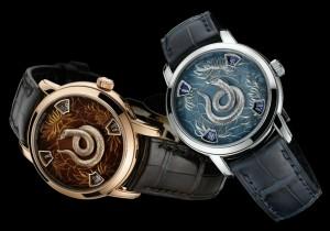 Змеиные часы Vacheron Constantin