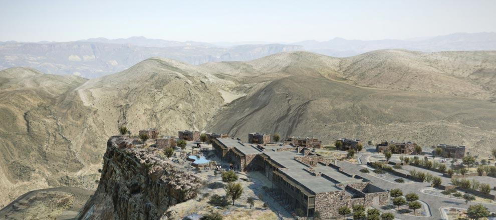 Alila Jabal Akhdar - оазис в Омане
