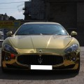 Золотой Maserati GranTurismo продают в Одессе