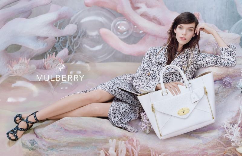 Рекламная кампания Mulberry весна/лето 2013