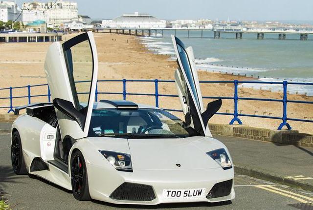 Lamborghini Murcielago LP640 в кристаллах Swarovski