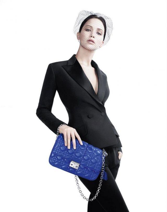 Дженнифер Лоуренс стала лицом коллекции сумок Miss Dior