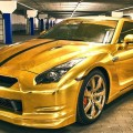 Nissan GTR Gold от WrapStyle