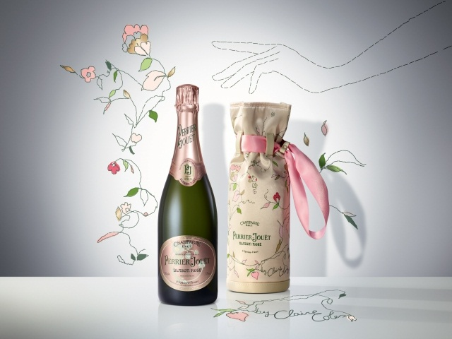 Подарочные наборы Perrier-Jouët от Claire Coles