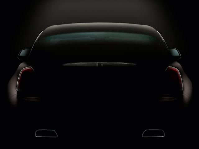 Rolls-Royce Wraith готовится к дебюту