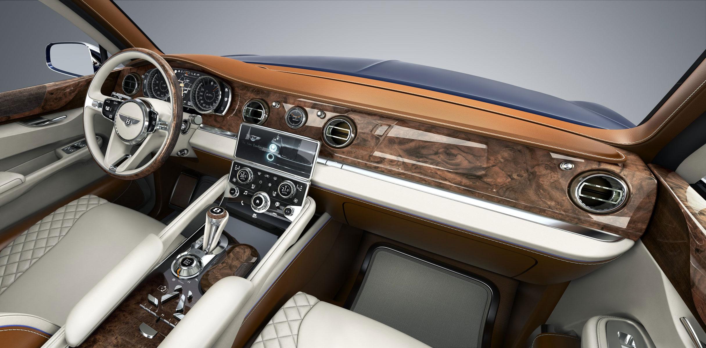 Внедорожник Bentley выпустят в 2015 году