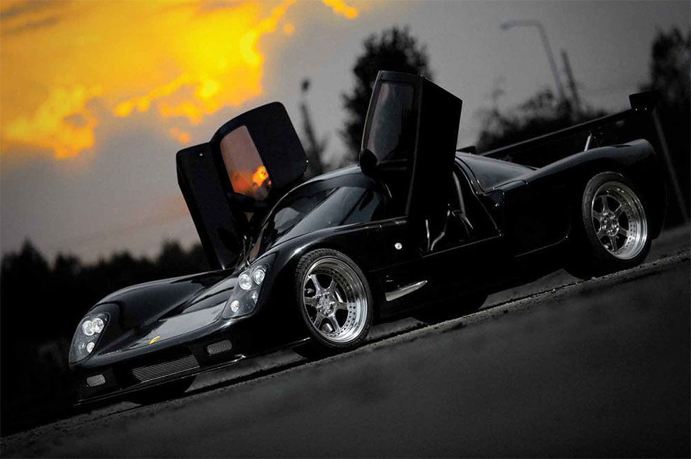 Румынский суперкар Black Falcon SBC-TT1750