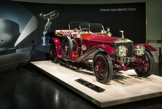 Rolls-Royce Exhibition in Munich