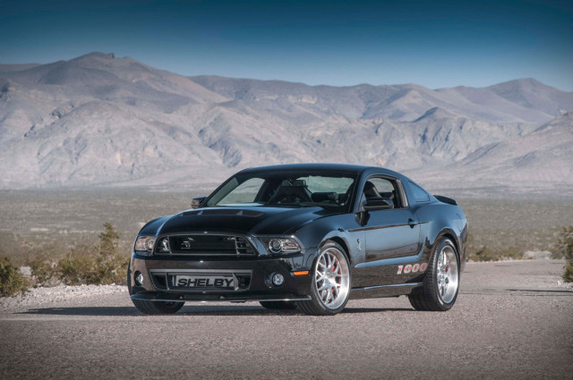 2013 Shelby 1000 unleashes its 1,200 horsepower ahead of NY show reveal