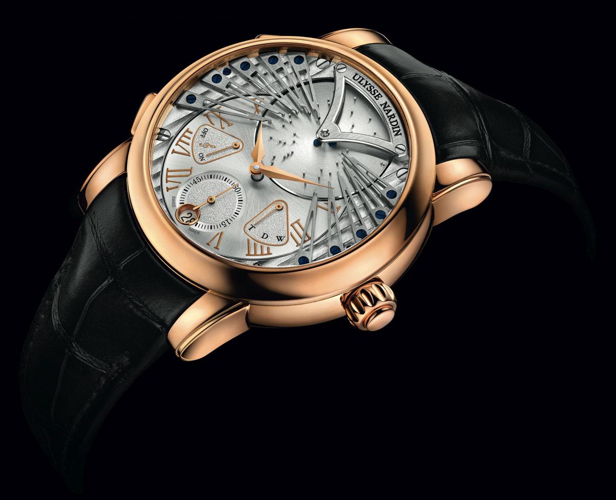 Ulysse Nardin Stranger debuts as world's first musical wristwatch