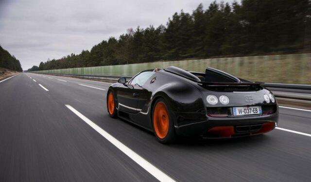 Bugatti Veyron 16.4 Grand Sport Vitesse World Record Car Edition 6