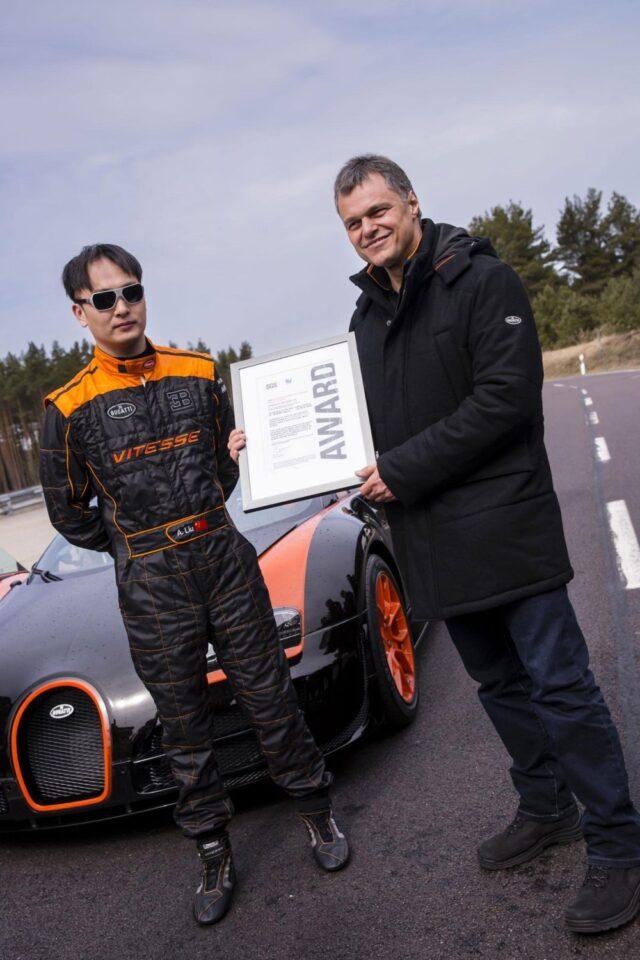Bugatti Veyron 16.4 Grand Sport Vitesse World Record Car Edition 8