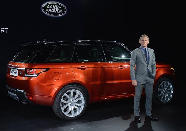 Дэниел Крейг получил $1 млн за Range Rover Sport
