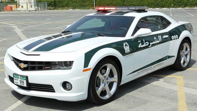 Dubai Police Chevy Camaro