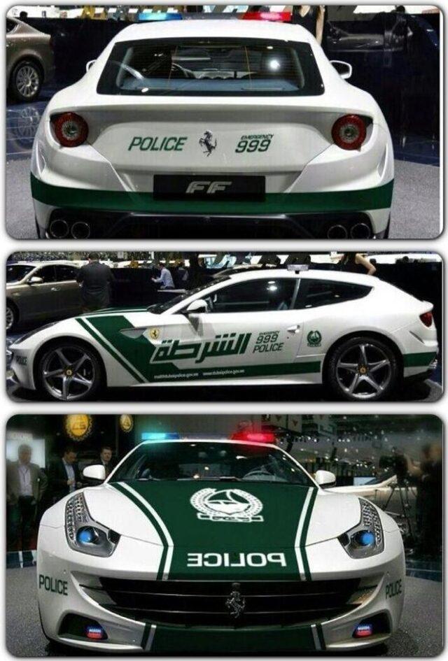 Dubai Police gets Ferrari FF