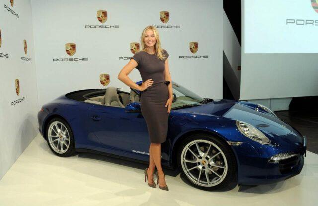 Maria Sharapova brand ambassador Porsche