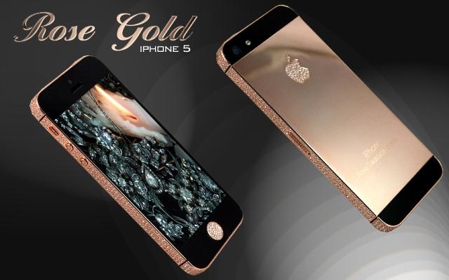 Rose Gold iphone 5 Ambassador