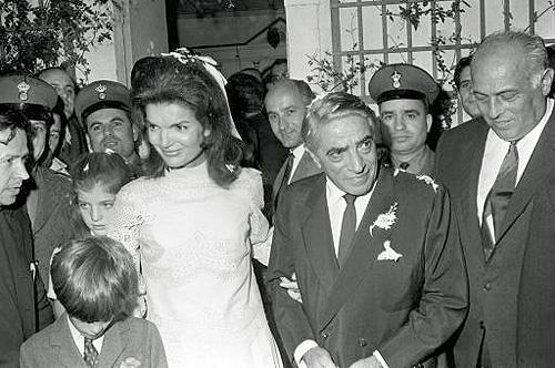 Свадьба Жаклин Кеннеди и Аристотеля Онассиса