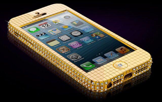 Goldgenie Superstar Ice iPhone 5