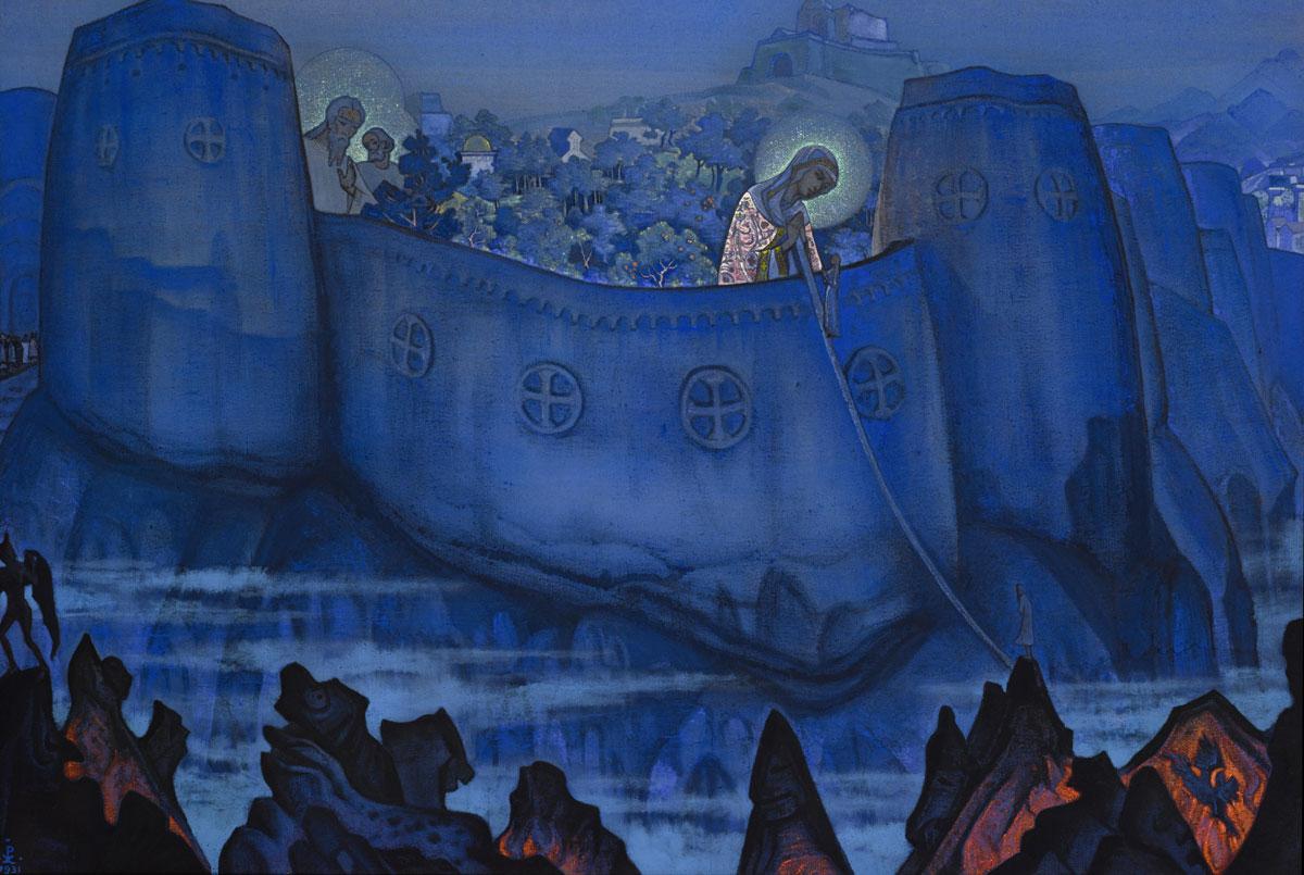 "Картина «Мадонна Лаборис"" Николая Рериха продана на Bonham's за  млн"