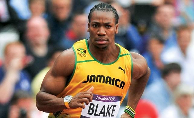 Йохан Блейк во время Олимпиады 2012, Лондон