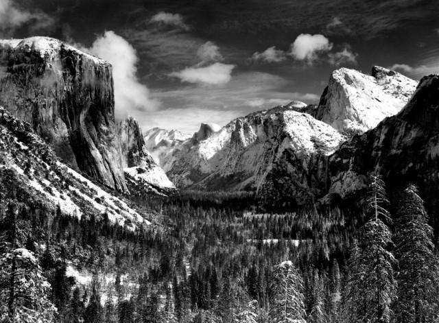 Ansel Adams, Inspiration Point, Yosemite