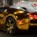 Golden Gatti - золотой Бугатти