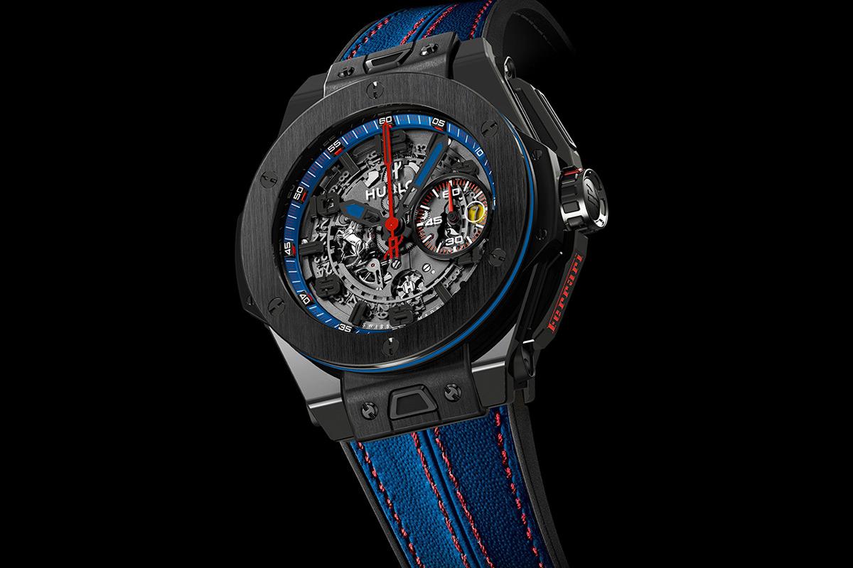 Hublot и Ferrari выпустили лимитированные часы Big Bang Ferrari Beverly Hills