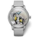 Эксклюзивные часы Petite Heure Minute Relief Seasons от Jaquet Droz