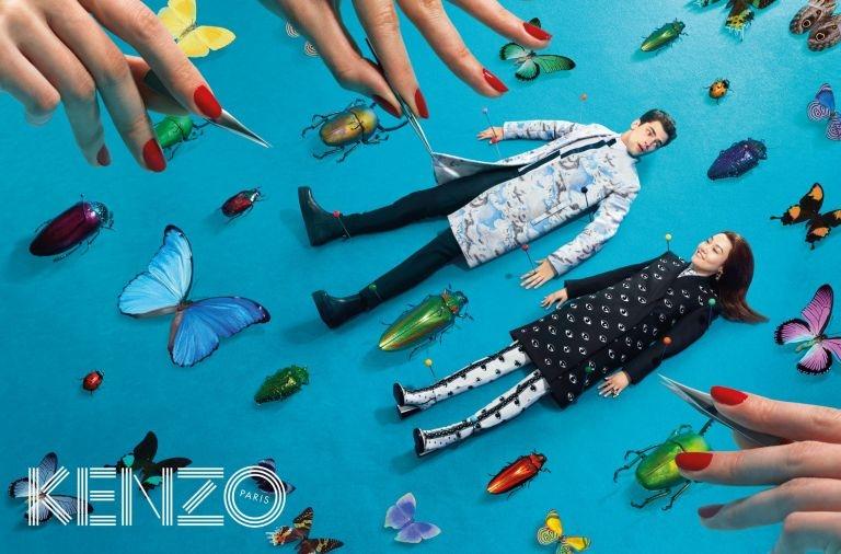 Kenzo add campaign