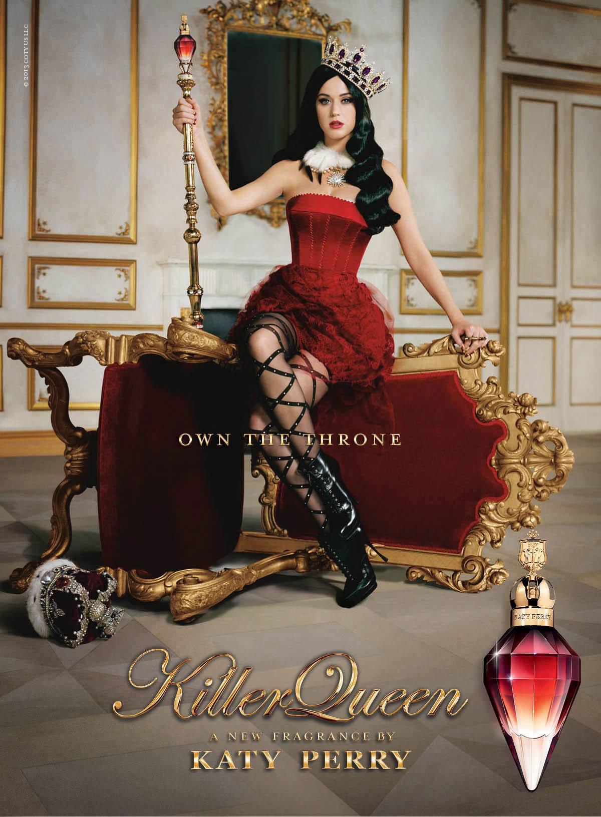 Кэти Перри выпустила новый аромат Killer Queen
