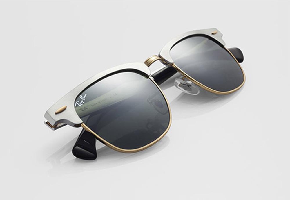 Ray-Ban представил очки Clubmaster в новом варианте дизайна