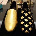 Эксклюзивная обувь из 24К золота от Alberto Moretti
