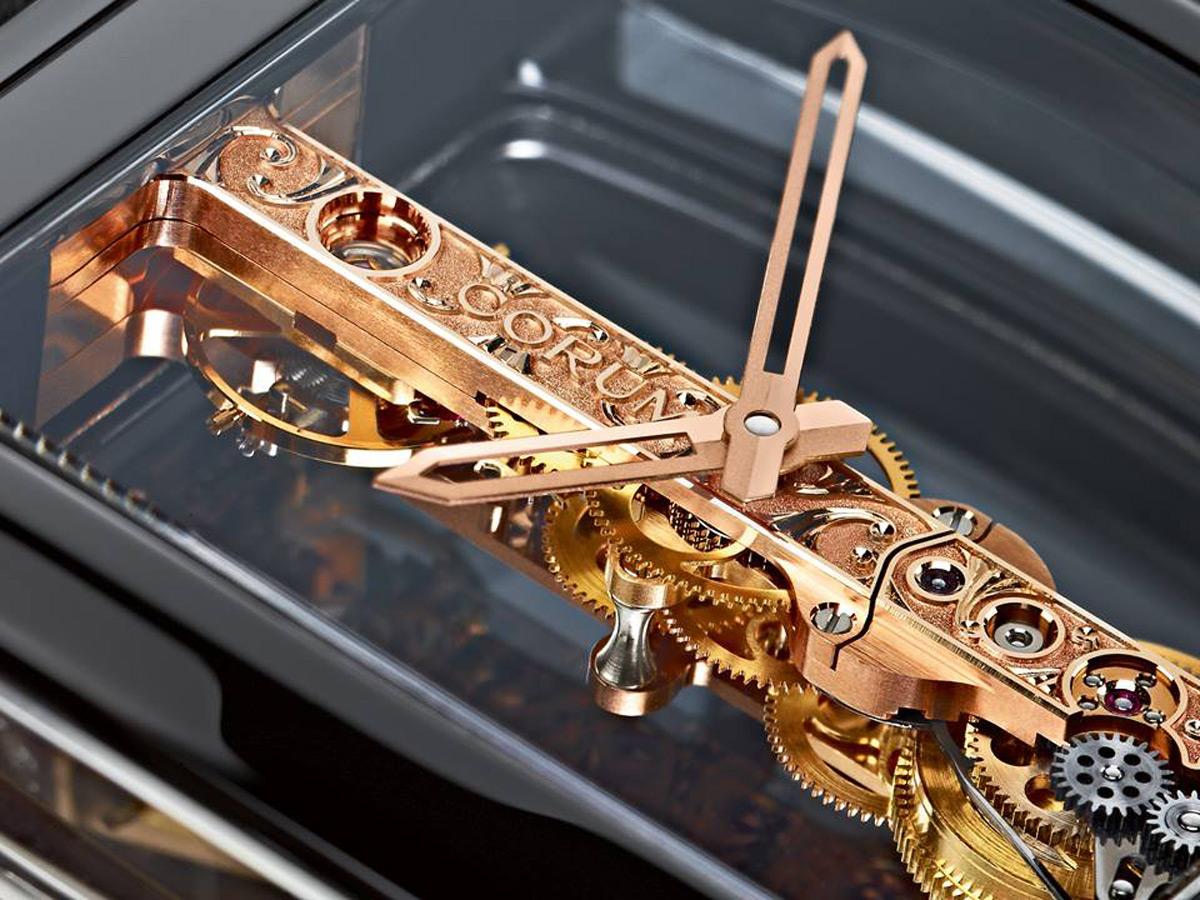 Эксклюзивные часы Golden Bridge Black Ceramic от Corum